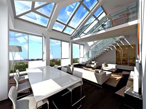 film solaire vitre teinté bâtiment anti ultraviolet