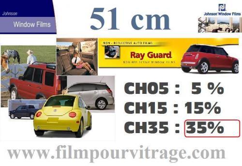 Films Teintés Ray Guard en vente chez FilmPourVitrage.com
