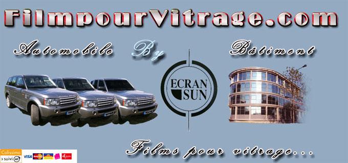 Film Pour Vitrage by Ecran Sun, spécialiste de la vente en ligne d'écran solaire