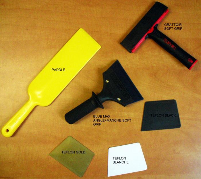Nouveaux outils de pose de films auto et bâtiment