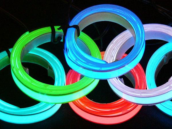 Formation au covering de film électroluminescent