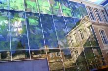 Film solaire de teinte de vitrage bâtiment